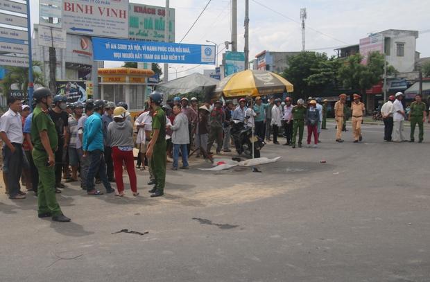 Đà Nẵng: Bé trai 10 tuổi bị xe tải cán tử vong thương tâm, mẹ nguy kịch - Ảnh 3.