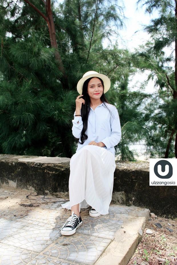 Cô gái Việt Nam bất ngờ xuất hiện trên trang mạng Ulzzang Hàn Quốc - Ảnh 4.