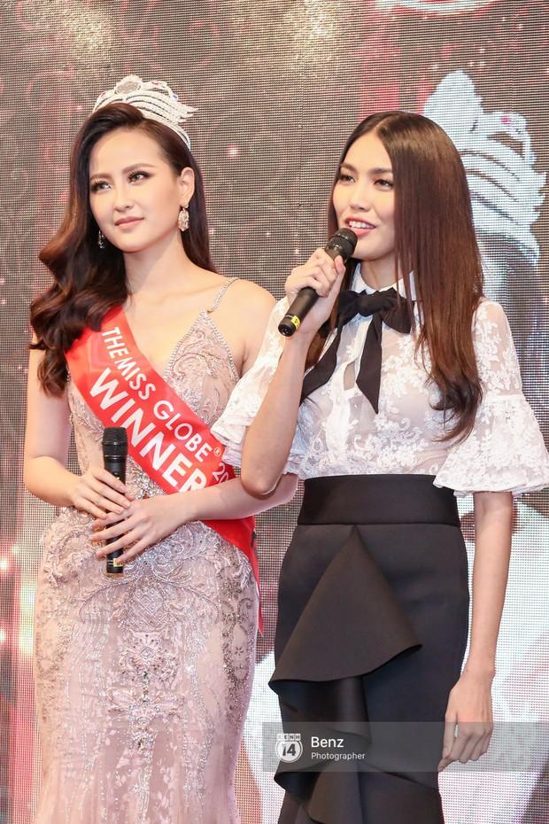 Vừa về tới Việt Nam, Khánh Ngân trích 150 triệu đồng giải thưởng Miss Globe hỗ trợ bà con trong vùng bão lũ - Ảnh 6.