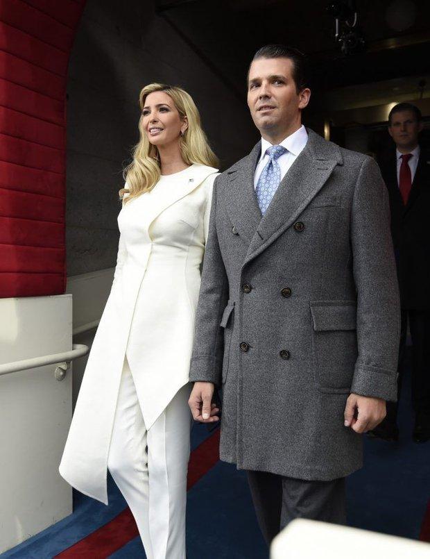 Tưởng bà Trump đã xuất sắc lắm, ai ngờ con gái ông Trump còn mặc đẹp hơn cả mẹ mình - Ảnh 5.