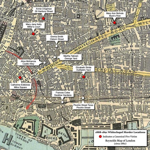 Jack the Ripper: 2 tháng sát hại tàn bạo 5 người, cho đến hơn 1 thế kỷ sau, kẻ sát nhân vẫn là một ẩn số - Ảnh 2.