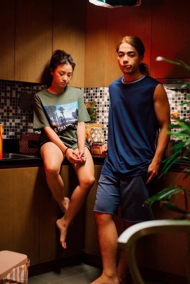 Trung Quân mời hot girl Salim kể một lúc 4 câu chuyện tình yêu với 4 hotboy trong MV - Ảnh 3.