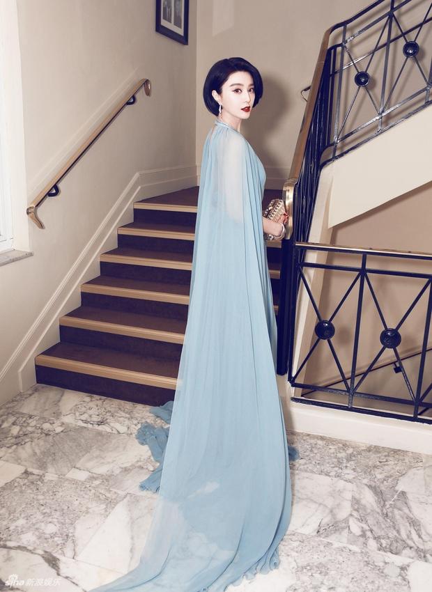 Thảm đỏ LHP Cannes: Phạm Băng Băng lộng lẫy như nữ hoàng, quyết cân dàn mỹ nhân quốc tế - Ảnh 4.