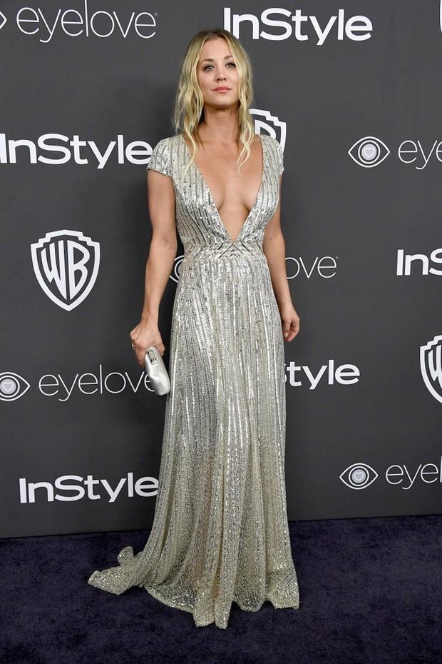 Hậu Quả Cầu Vàng: Miranda Kerr trễ nải sexy, mỹ nhân Blurred Lines hớ hênh trên thảm đỏ - Ảnh 24.