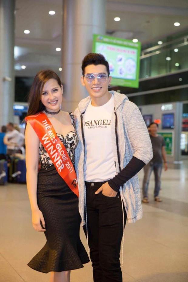 Sau hơn 1 tuần đăng quang Miss Globe 2017, Khánh Ngân rạng rỡ trở về nước - Ảnh 2.