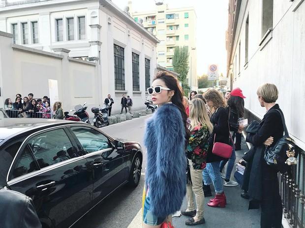 Tới Milan Fashion Week, Kỳ Duyên đầu tư kỹ lưỡng và xuất hiện ngay trên hàng ghế đầu show Moschino - Ảnh 9.