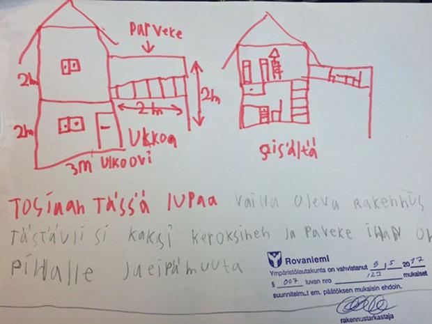 Nộp hồ sơ xin xây nhà riêng, cậu bé 8 tuổi nhận được giấy cấp phép của chính quyền thành phố chỉ 1 ngày sau đó - Ảnh 2.