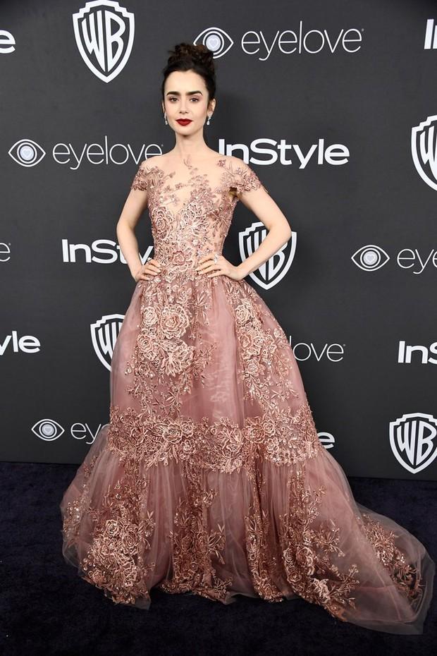 Hậu Quả Cầu Vàng: Miranda Kerr trễ nải sexy, mỹ nhân Blurred Lines hớ hênh trên thảm đỏ - Ảnh 19.