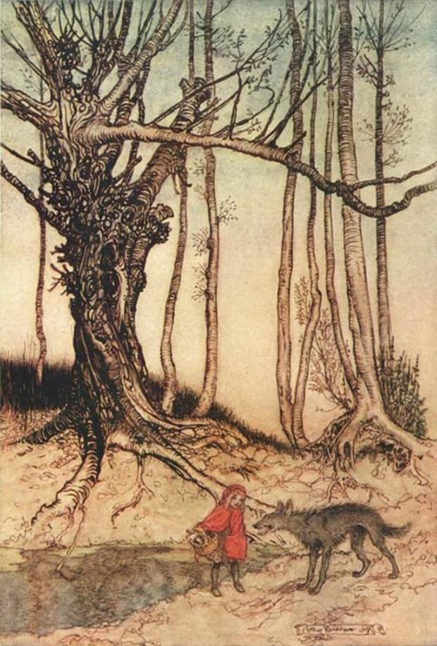 Nếu là fan của truyện cổ tích, phiên bản Cô bé quàng khăn đỏ đầy đáng sợ sẽ khiến bạn rùng mình - Ảnh 4.