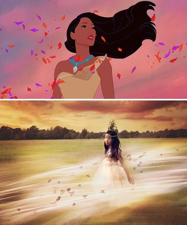 Nữ nhiếp ảnh gia tái hiện cảnh phim hoạt hình Disney trở thành hiện thực đẹp như mơ - Ảnh 15.