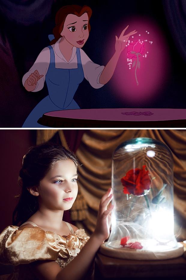 Nữ nhiếp ảnh gia tái hiện cảnh phim hoạt hình Disney trở thành hiện thực đẹp như mơ - Ảnh 13.
