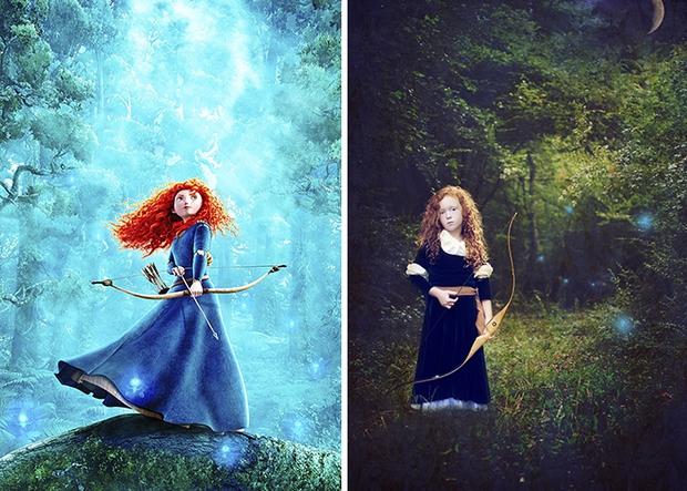 Nữ nhiếp ảnh gia tái hiện cảnh phim hoạt hình Disney trở thành hiện thực đẹp như mơ - Ảnh 23.