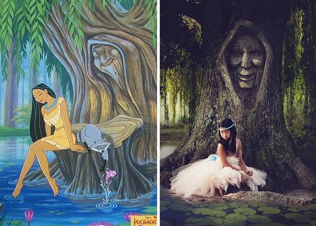 Nữ nhiếp ảnh gia tái hiện cảnh phim hoạt hình Disney trở thành hiện thực đẹp như mơ - Ảnh 25.