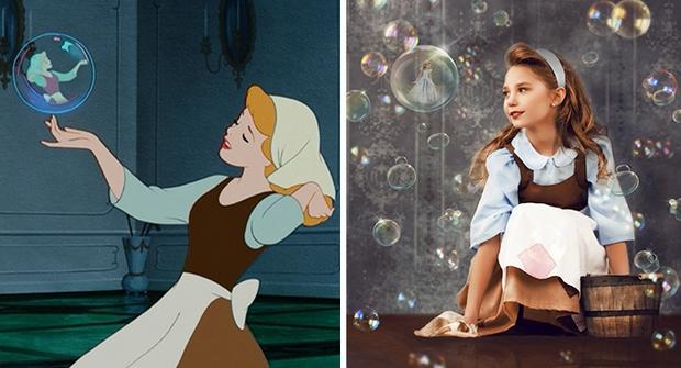 Nữ nhiếp ảnh gia tái hiện cảnh phim hoạt hình Disney trở thành hiện thực đẹp như mơ - Ảnh 7.