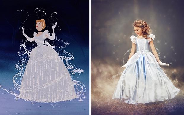 Nữ nhiếp ảnh gia tái hiện cảnh phim hoạt hình Disney trở thành hiện thực đẹp như mơ - Ảnh 11.