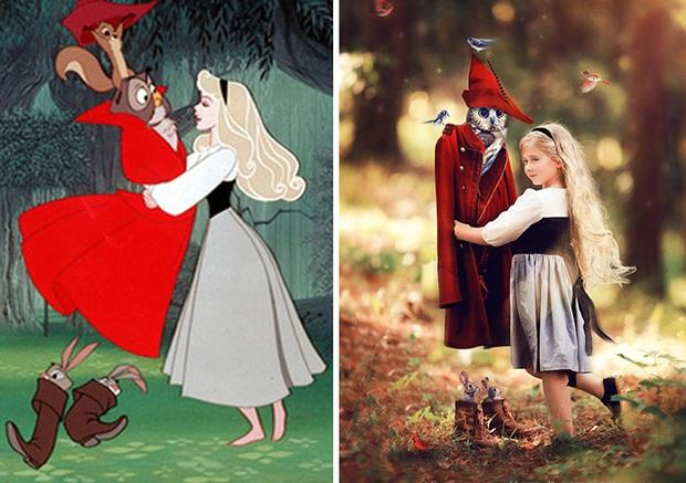 Nữ nhiếp ảnh gia tái hiện cảnh phim hoạt hình Disney trở thành hiện thực đẹp như mơ - Ảnh 21.