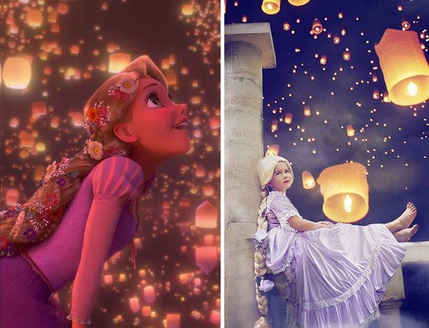 Nữ nhiếp ảnh gia tái hiện cảnh phim hoạt hình Disney trở thành hiện thực đẹp như mơ - Ảnh 17.