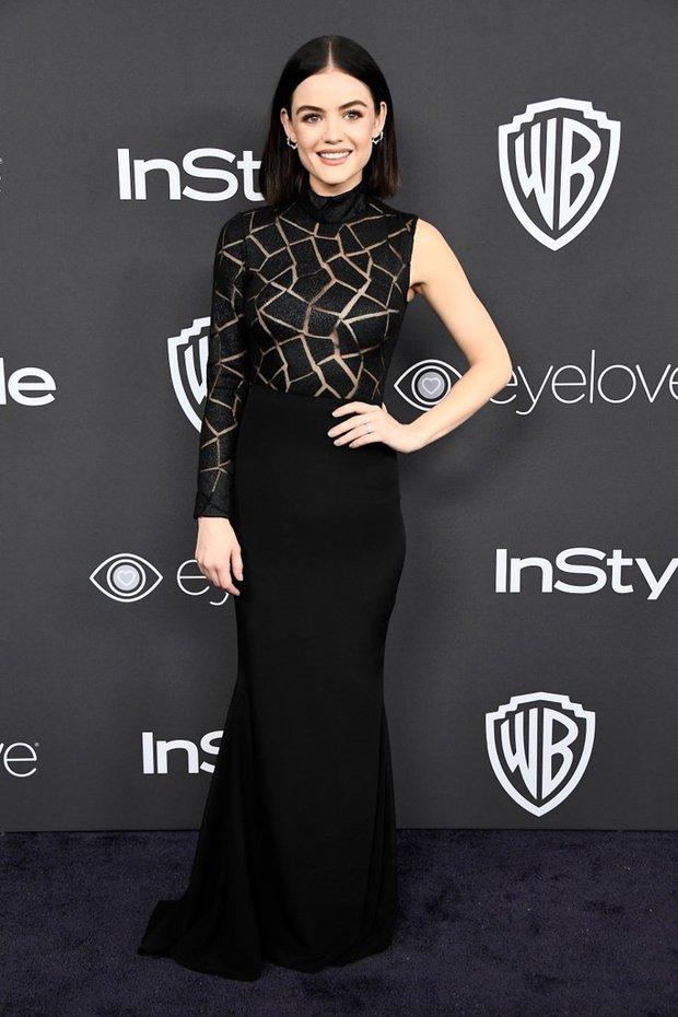 Hậu Quả Cầu Vàng: Miranda Kerr trễ nải sexy, mỹ nhân Blurred Lines hớ hênh trên thảm đỏ - Ảnh 13.