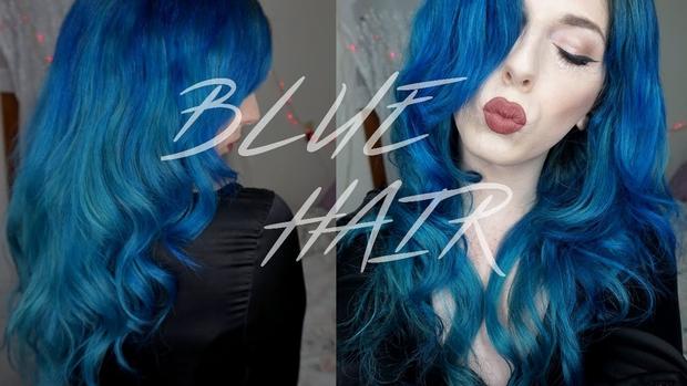 Tóc vàng, nâu, đỏ... quá nhàm rồi, nhưng sao ta không sở hữu 1 mái tóc xanh tự nhiên? - Ảnh 3.