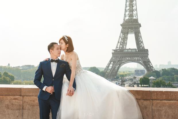 Tú Linh M.U khoe ảnh cưới cực hạnh phúc và lãng mạn được chụp ở 3 nước - Ảnh 2.