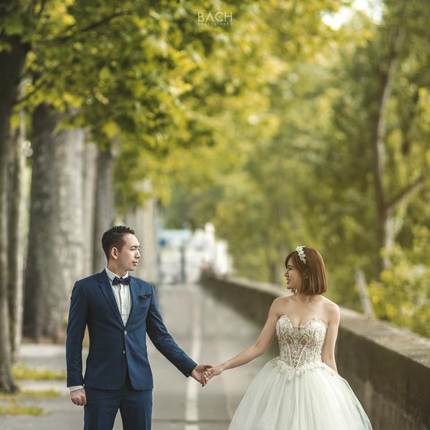 Bật mí hậu trường chụp ảnh cưới của hot girl Tú Linh và chồng - Ảnh 4.