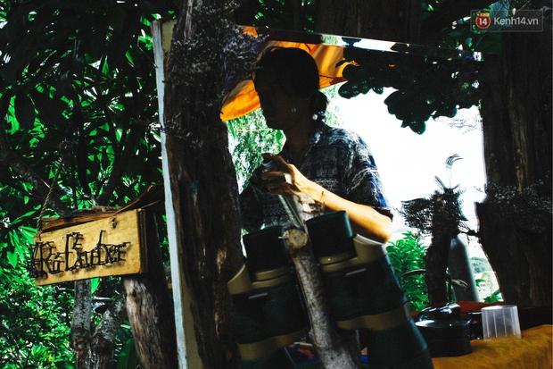 Chuyện về chàng trai Vũng Tàu bỏ phố lên rừng để mở tiệm tóc trong túp lều độc đáo bên triền dốc - Ảnh 6.