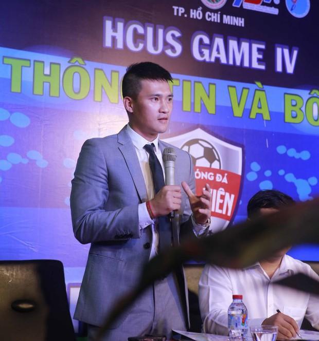 Công Vinh cử tuyển trạch viên theo dõi Giải bóng đá Sinh viên TP.HCM 2017 - Ảnh 1.
