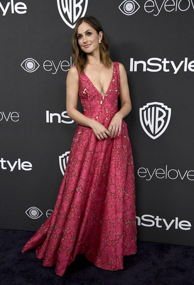 Hậu Quả Cầu Vàng: Miranda Kerr trễ nải sexy, mỹ nhân Blurred Lines hớ hênh trên thảm đỏ - Ảnh 23.