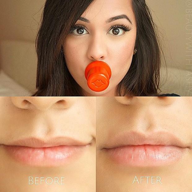 4 phương pháp siêu hot giúp bạn có ngay đôi môi tều gấp đôi bình thường - Ảnh 2.