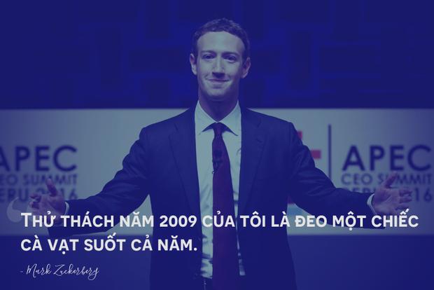Mark Zuckerberg từng suốt cả năm chỉ đeo một chiếc cà vạt, lý do đằng sau sẽ khiến bạn phải ngã mũ trước cha đẻ Facebook - Ảnh 2.