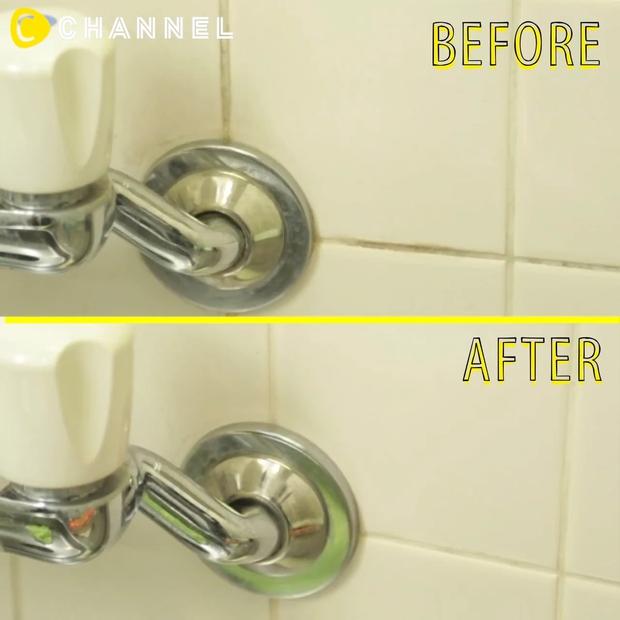 Không cần dọn thường xuyên mà nhà tắm vẫn sáng bóng nhờ thêm thứ này vào nước tẩy rửa - Ảnh 5.