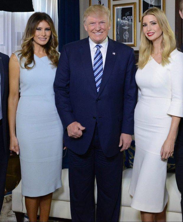 Ivanka Trump thể hiện tình cảm thân thiết với mẹ kế Melania Trump - Ảnh 2.