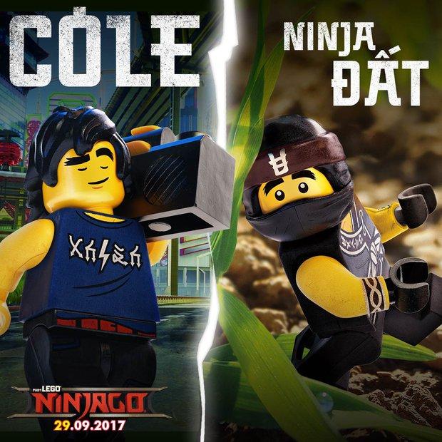 Tất tần tật về các nhân vật Ninja bá đạo trong The LEGO Ninjago Movie - Ảnh 8.
