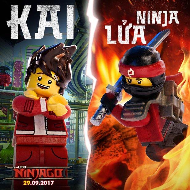 Tất tần tật về các nhân vật Ninja bá đạo trong The LEGO Ninjago Movie - Ảnh 5.