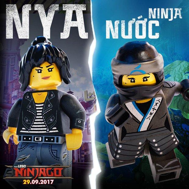 Tất tần tật về các nhân vật Ninja bá đạo trong The LEGO Ninjago Movie - Ảnh 6.
