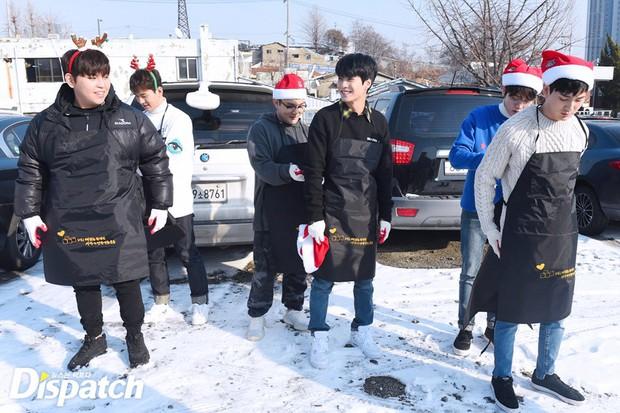 Sao Hàn và Thái đón Giáng Sinh: Wanna One, Big Bang mừng lễ trên sân khấu, Seventeen và NUEST bê than làm từ thiện - Ảnh 23.