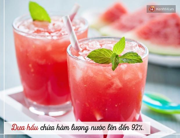 Trời siêu nắng nóng, hãy dùng ngay các loại đồ uống này để vừa bù nước, vừa tốt cho sức khoẻ - Ảnh 1.