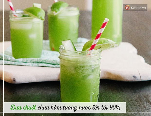 Trời siêu nắng nóng, hãy dùng ngay các loại đồ uống này để vừa bù nước, vừa tốt cho sức khoẻ - Ảnh 3.