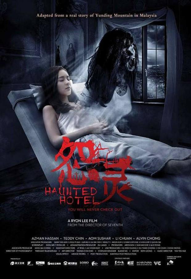 """""""Song Hye Kyo của Thái"""" Aom Sushar lột xác trong phim kinh dị """"Khách Sạn Ma"""" - Ảnh 10."""
