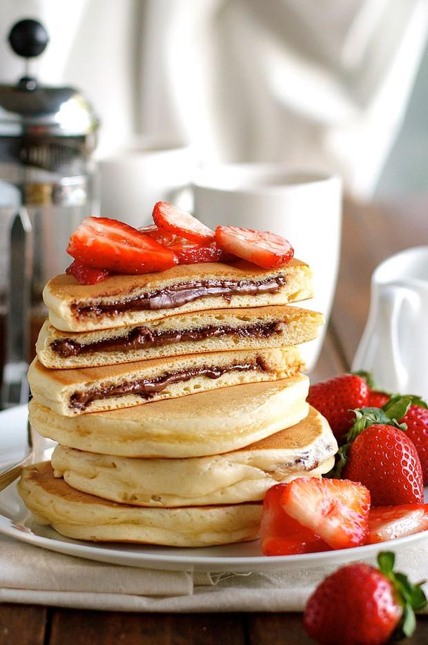 Đem lai pancake với sandwich thì sẽ như thế nào nhỉ? - Ảnh 6.