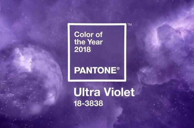 Công bố màu sắc của năm 2018 - thế giới nhuộm màu tím vô cực - Ảnh 1.
