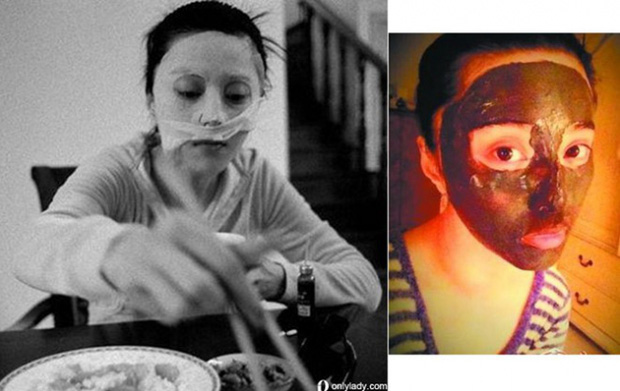 Che ô trong nhà, đắp mặt nạ lúc ăn cơm và che nắng kín mít, đó chính là Phạm Băng Băng! - Ảnh 10.
