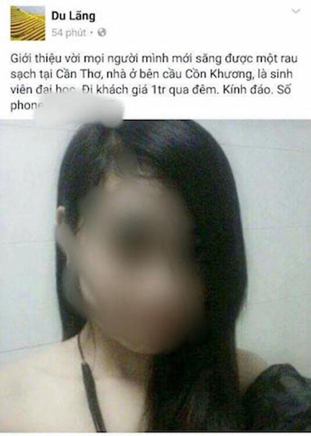 Nữ sinh viên bỗng dưng thành… gái bán dâm - Ảnh 1.