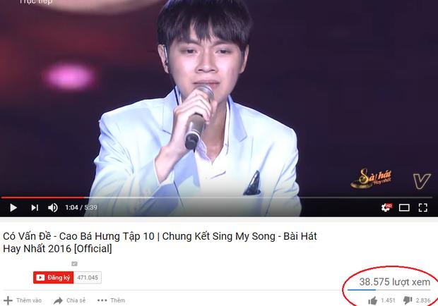 Bài hát hay nhất của Cao Bá Hưng lại bị dislike gấp đôi lượt like! - Ảnh 4.