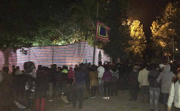 Yên Bái khẳng định không quây bạt để treo trâu ở lễ hội Đông Cuông - Ảnh 1.