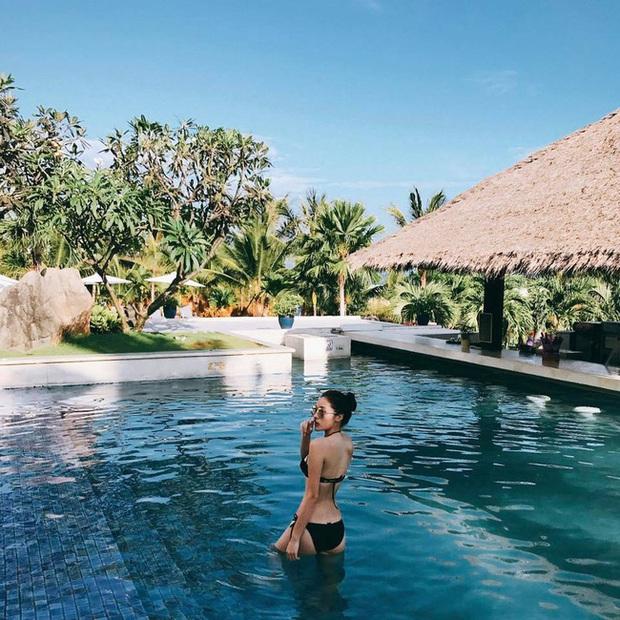 Lặn một hồi sau bão scandal, Kỳ Duyên bất ngờ khoe dáng siêu nuột với bikini nóng bỏng - Ảnh 2.