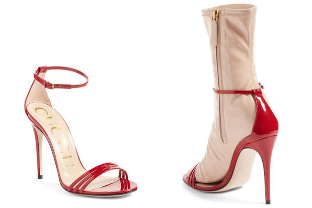 Đến Gucci cũng nhập cuộc xu hướng giày dép độc với đôi sandals kèm tất nhựa khiến dân tình hốt hoảng - Ảnh 1.