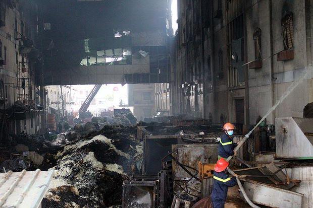 Hình ảnh tan hoang sau vụ cháy suốt 24 giờ ở Cần Thơ - Ảnh 2.