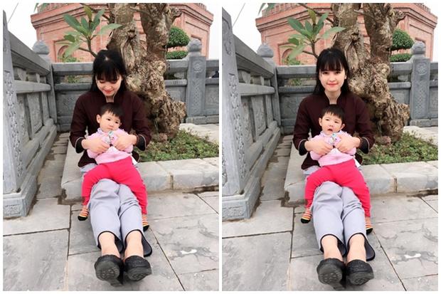 Sau gần 1 năm có mẹ nuôi, em bé Lào Cai từng suy dinh dưỡng nặng đã bụ bẫm và đáng yêu như thế này đây! - Ảnh 2.
