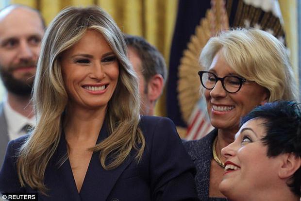 Vợ ông Trump lần đầu đón sinh nhật tại Nhà Trắng - Ảnh 2.